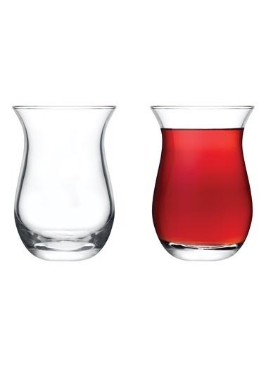 Madame Coco Alleffra 6'lı Çay Bardağı Seti Renkli